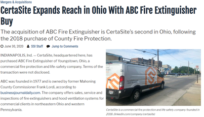 ABC Fire Extinguisher Co release image
